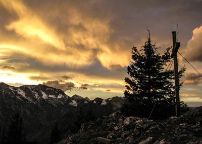 Kalkalpen Sonnenuntergang